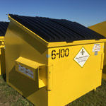 6 Yard Commercial Use Dumpster Rental