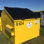 8 Yard Business Trash Dumpster Rentals